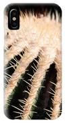 Large Cactus Ball IPhone Case