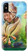 Large Mural In Cusco Peru Part 4 IPhone Case