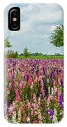 Larkspur Fields Forever IPhone Case