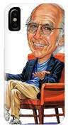 Larry David IPhone Case