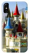 Las Vegas - Excalibur Hotel IPhone Case