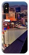 Las Vegas Sundown IPhone Case