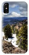 Lassen Volcanic National Park IPhone Case