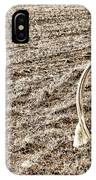 Lasso And Hat On Fence Post IPhone Case