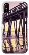 Last Light At The Capitola Wharf IPhone Case