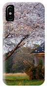 Last Light Of Day In Early Spring IPhone Case