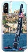 Last Race Oracle/alcatraz IPhone Case