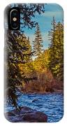 Late Afternoon Along The South Platte IPhone Case