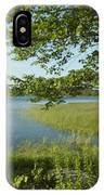 Late Afternoon On Worden Pond IPhone Case