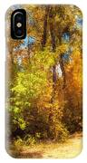 Late Autumn Colours IPhone Case