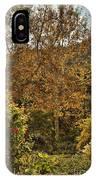 Late Autumn Walk IPhone Case