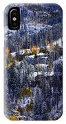 Late Fall In Vail IPhone Case