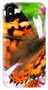 Late Summer Painted Lady IPhone Case