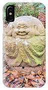 Laughing Forest Buddha IPhone Case