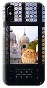Laughing Gnome In Venice IPhone Case