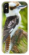 Laughing Kookaburra IPhone Case