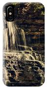 Laurel Run Falls IPhone Case