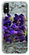 Lavender On White Stone IPhone Case