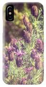 Lavandula Stoechas IPhone Case