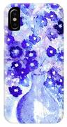 Lavender And Blue Impressions Of Spring IPhone Case