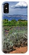 Lavender And Sunflowers IPhone Case