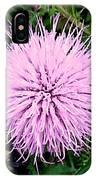 Lavender Bumble 2 IPhone Case