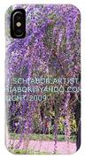 Lavender Butterfly Bush IPhone Case