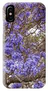 Lavender-colored Tree Blossoms IPhone Case