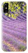 Lavender Field In France IPhone Case