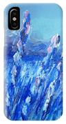 Lavender Field Landscape IPhone Case