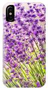 Lavender Flowers IPhone Case