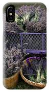 Lavender Harvest IPhone Case