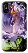 Lavender Hibiscus IPhone Case