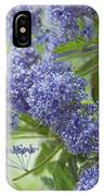 Lavender Pompoms IPhone Case