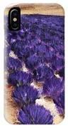 Lavender Study - Marignac-en-diois IPhone Case