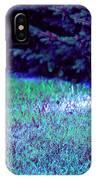 Lawn Blue IPhone Case