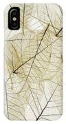 Layered Leaves IPhone Case