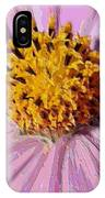 Layers Of A Cosmos Flower IPhone Case
