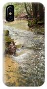 Lazy Mountain Stream IPhone Case