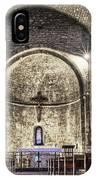 Le Castellet Medieval Church IPhone Case