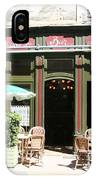 Le Charleston Bar In Tournus IPhone Case