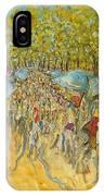 Le Marche De Toulon - Orig. For Sale IPhone Case