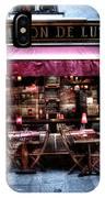 Le Marmiton De Lutece Paris France IPhone Case