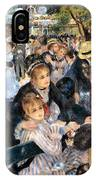 Le Moulin De La Galette IPhone Case
