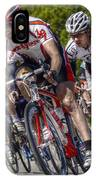 Leading The Race IPhone Case