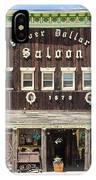 Leadville Saloon IPhone Case