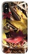 Leaf Collage IPhone Case