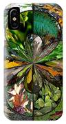 Leaf Collage Orb IPhone Case