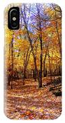 Leaf Covered Trail IPhone Case