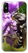 Leaf Cutter Bee IPhone X Case